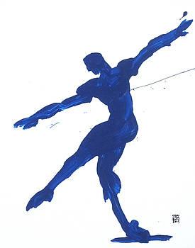 Gesture Brush Blue 2 by Shungaboy X