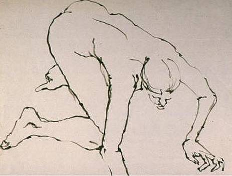 Gesture Drawing Number 05A by Denise Urban