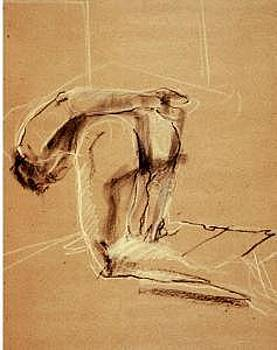 Gesture Drawing Number 10A by Denise Urban