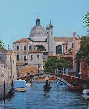 Gesuati Venice by Angel Ortiz
