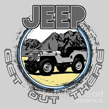 Get Out There in a Jeep by Paul Kuras