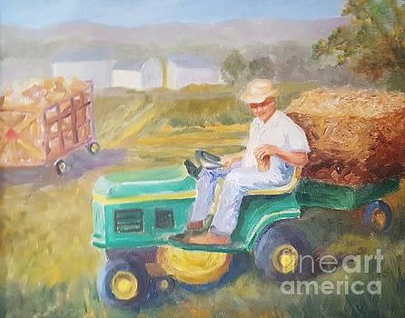 Gettin' in Hay by Dorothy Weichenthal