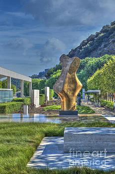 David Zanzinger - Getty Center contemporary outdoor sculptures