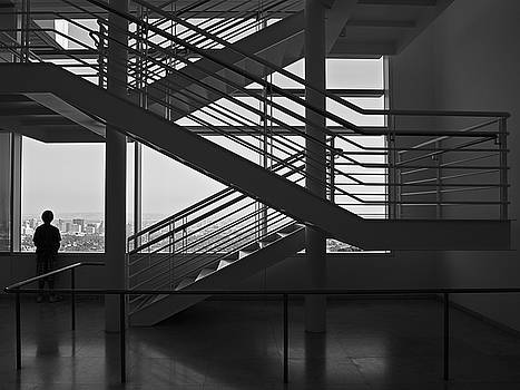Getty Lines by Ron Dubin