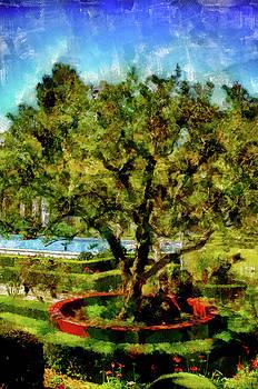 Getty Villa Landscape by Joseph Hollingsworth