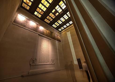 John King - Gettysburg Address--Inside the Lincoln Memorial