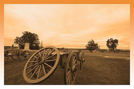 Gettysburg War Wagons by John Holloway