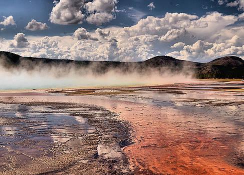 Geyser Basin by Bill Hosford
