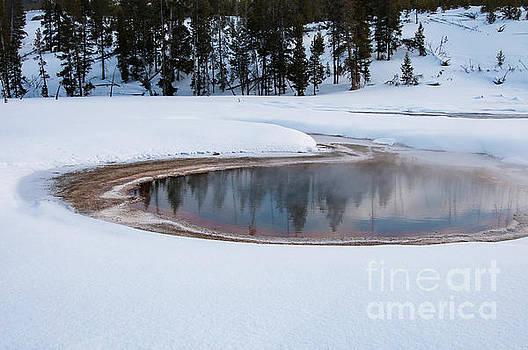 Bob Phillips - Geyser Pool Reflection