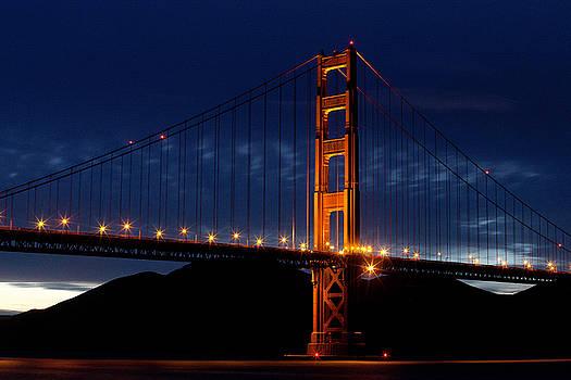 GGB sunset by Joe Luchok