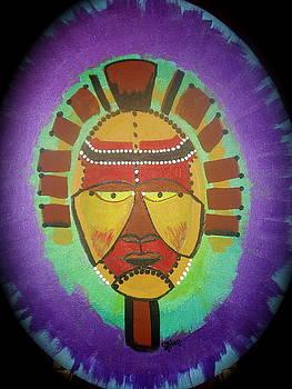 Ghana Mask by Sheila J Hall