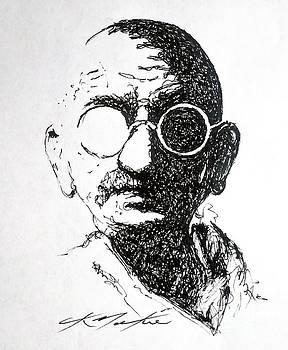 Ghandi by CK Mackie