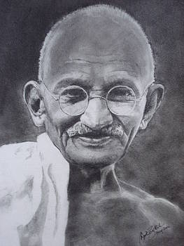 Ghandi02 by Deepak Battal