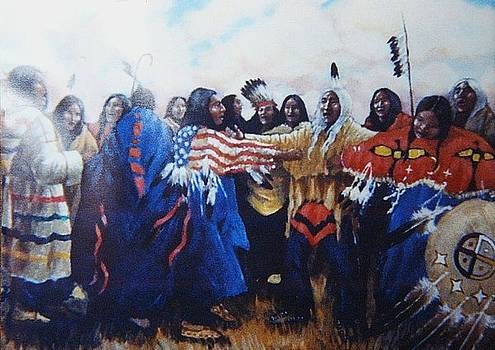 Ghost Dance by Leif Thor Kvammen
