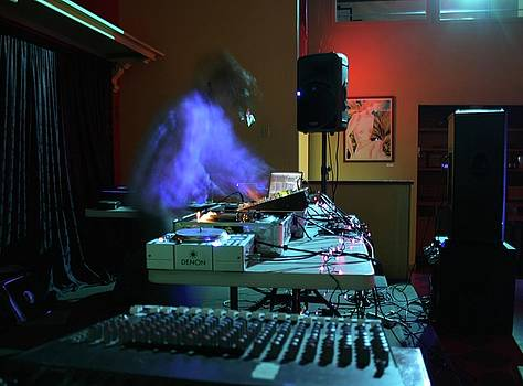 Ghost DJ by Dave Brooksher