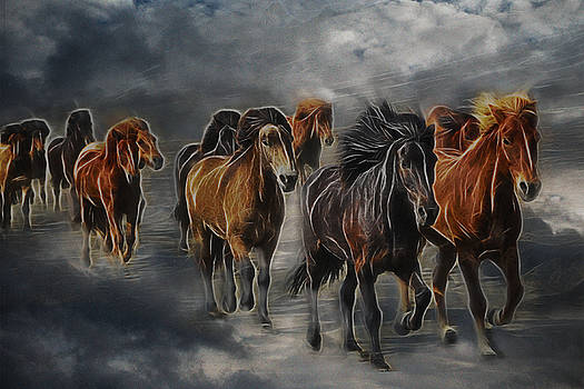Ghost Horses by Lisa Yount