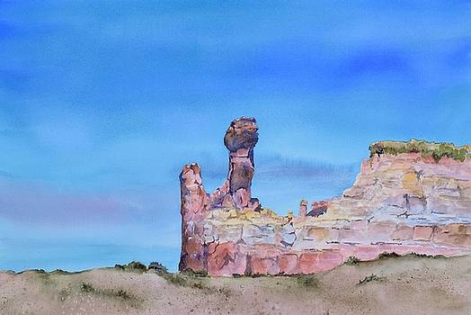 Ghost Ranch Vista by Celene Terry