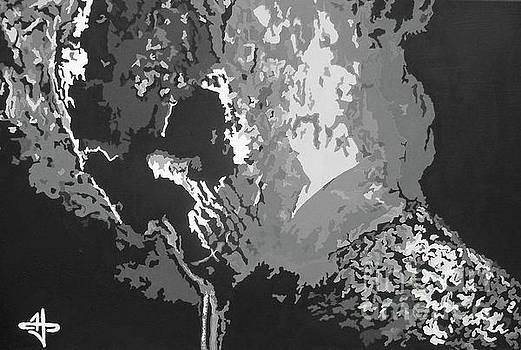 Ghost Rider - Retribution BW by Kelly Hartman
