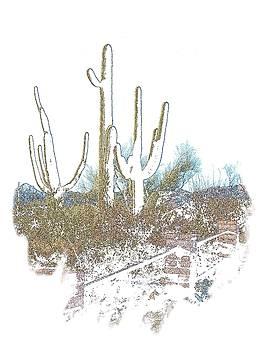 Regina Arnold - Ghost Saguaros