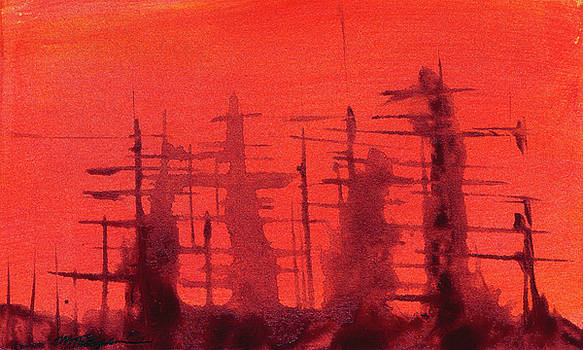 Ghost Ships by Mary Elizabeth Thompson