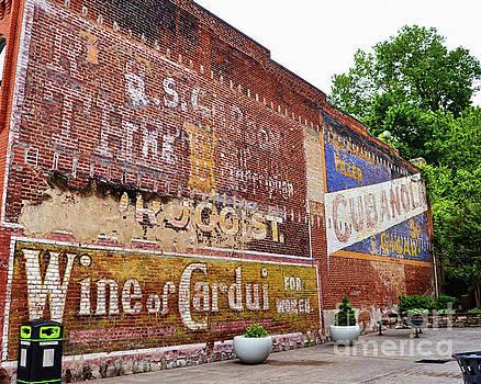 Ghost Signs in Radford Virginia by Kerri Farley