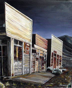 Ghost town by Seth Johnson
