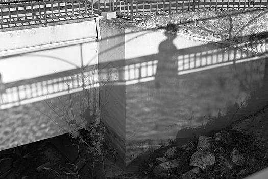 Ghost Woman on Bridge by Katherine Klauber