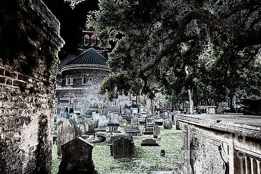 Ghostly Cemetary by Dale Powell