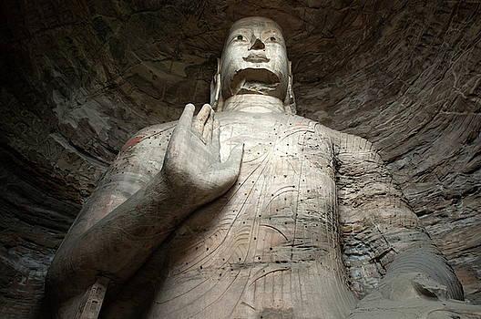 Sami Sarkis - Giant Buddha statue in China