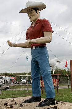 TONY GRIDER - Giant Cowboy II