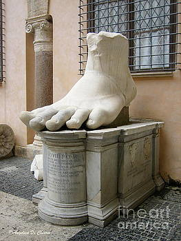Giant Foot by Italian Art