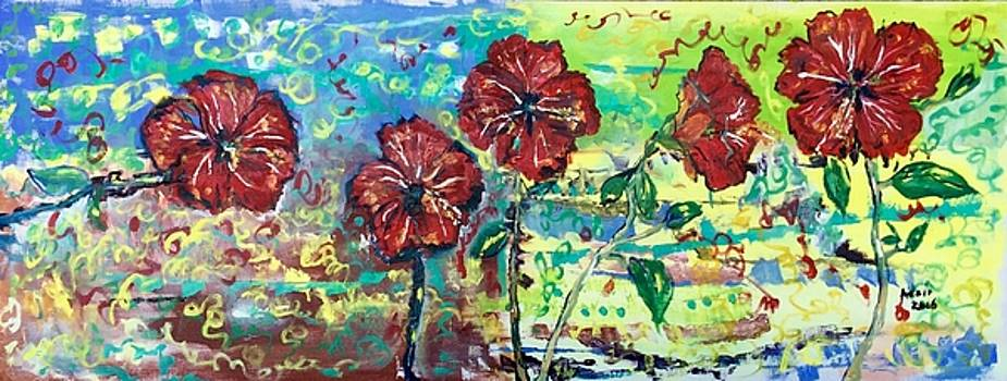 Giant Hibiscus by Adair Robinson
