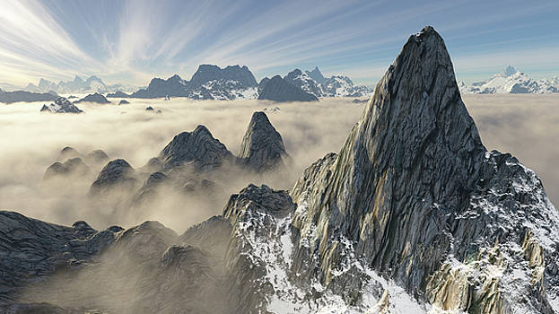 Giant peak from above by Erik Tanghe