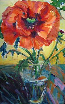 Giant Poppy by Nanci Cook