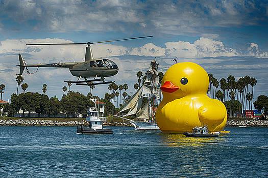 Giant Rubber Ducky by Zoe Schumacher