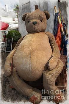 Giant teddy Bear by Daniela White