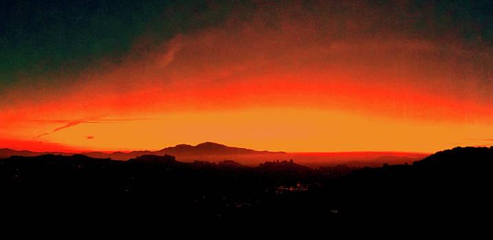 Giants Sunrise by Jennifer Cadence Spalding