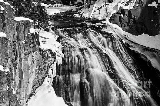 Bob Phillips - Gibbon Falls in Winter 2