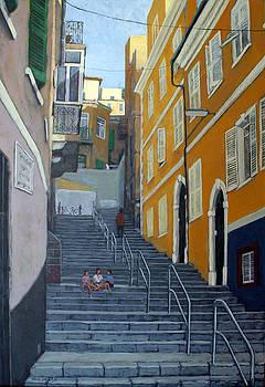 Gibraltar Steps by Tony Johnson