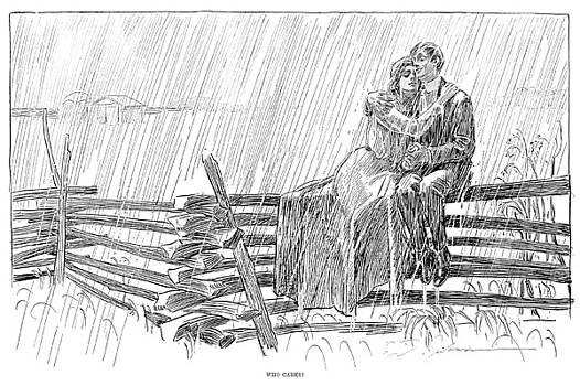 Charles Dana Gibson - WHO CARES, 1901