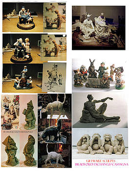 Gift ware statuary by Patrick RANKIN