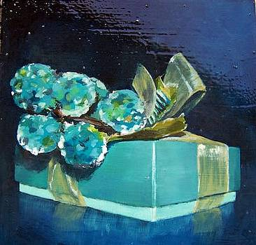 Gift with crystal grapes by Chelsie Brady