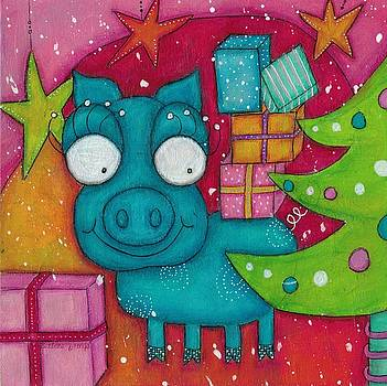 Gifting Piggy by Barbara Orenya