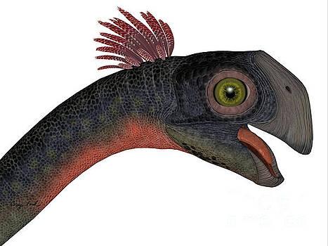 Corey Ford - Gigantoraptor Dinosaur Head