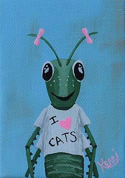 Gigi the Grasshopper's School Picture by Kerri Ertman