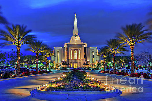 Gilbert Arizona Temple of the Church of Jesus Christ of Latter-day Saints by Sam Antonio Photography