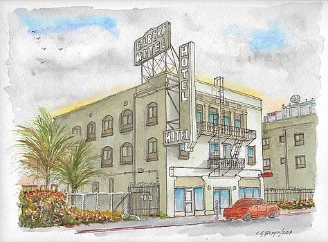 Gilbert Hotel in Hollywood, California by Carlos G Groppa