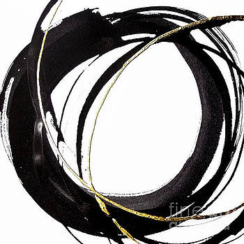 Gilded Enso 1 by Chris Paschke