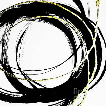 Gilded Enso 2 by Chris Paschke