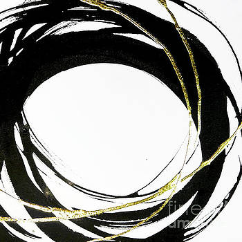 Gilded Enso 3 by Chris Paschke